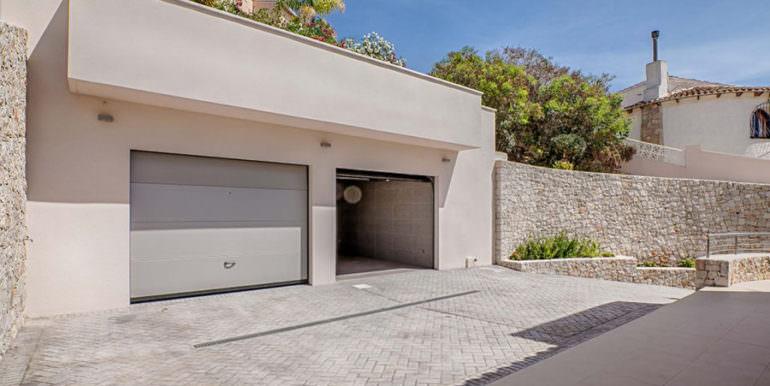 Wonderful new villa with stunning sea views in Moraira San Jaime/Moravit - Garage - ID: 5500675