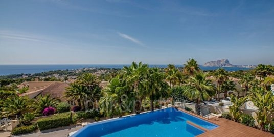 Wonderful new villa with stunning sea views in Moraira San Jaime/Moravit