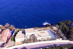 First line ibizan style luxury villa in Jávea Balcón al Mar - Stunning sea views - ID: 5500678