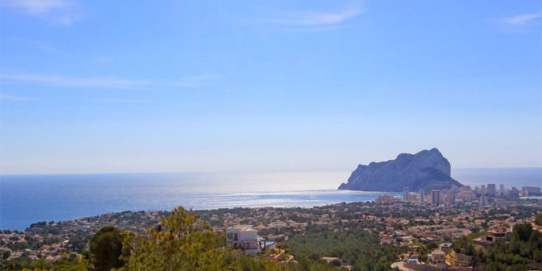 Stunning villa with fantastic sea views in Benissa Racó de Galeno - Fantastic 180º sea views - ID: 5500680