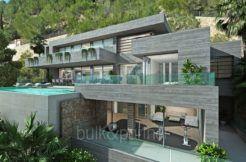 Stunning villa with fantastic sea views in Benissa Racó de Galeno - ID: 5500680