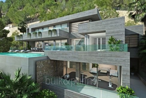 Stunning villa with fantastic sea views in Benissa Racó de Galeno - ID: 5500680