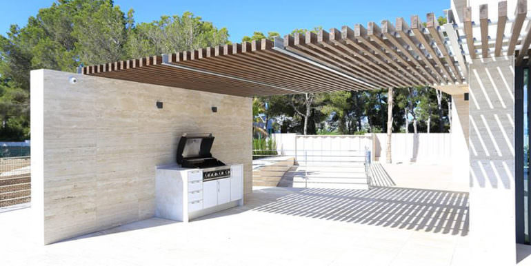Gorgeous villa with exceptional sea views in Jávea Portichol - BBQ - ID: 5500662