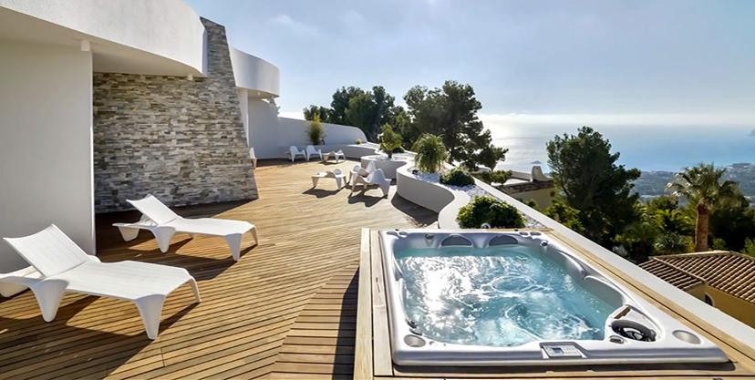 Luxuswohnung mit traumhaftem Meerblick in Altéa la Sierra