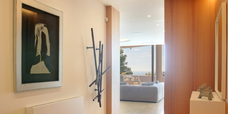 Luxury apartment with incredible sea views in Altéa la Sierra - Corridor living area - ID: 5500686