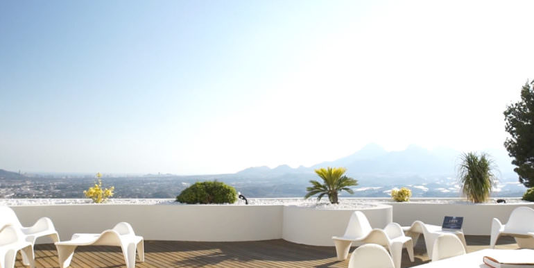 Luxury apartment with incredible sea views in Altéa la Sierra - Panoramic views - ID: 5500686