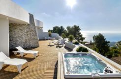 Luxury apartment with incredible sea views in the Sierra de Altéa - Terrace with sea views - ID: 5500686