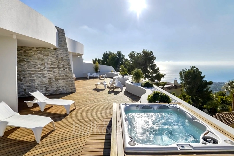 Apartamento de lujo con increíbles vistas al mar en Altéa la Sierra
