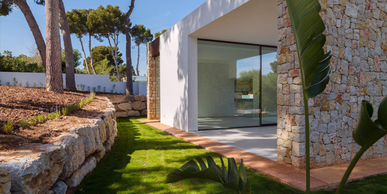 Modern design luxury villa in Moraira Moravit - Garden - ID: 5500684 - Architect Ramón Esteve Estudio
