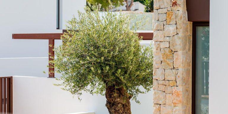 Modern design luxury villa in Moraira Moravit - Garden details - ID: 5500684 - Architect Ramón Esteve Estudio