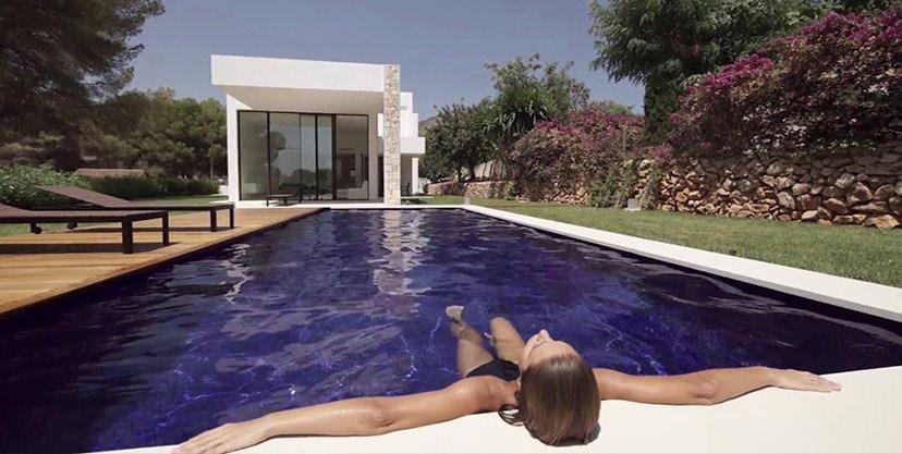 Modern new built luxury villa in Moraira El Portet
