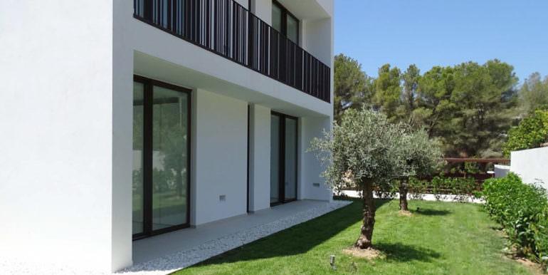 Modern new built luxury villa in Moraira El Portet - Back - ID: 5500685 - Architect Ramón Esteve