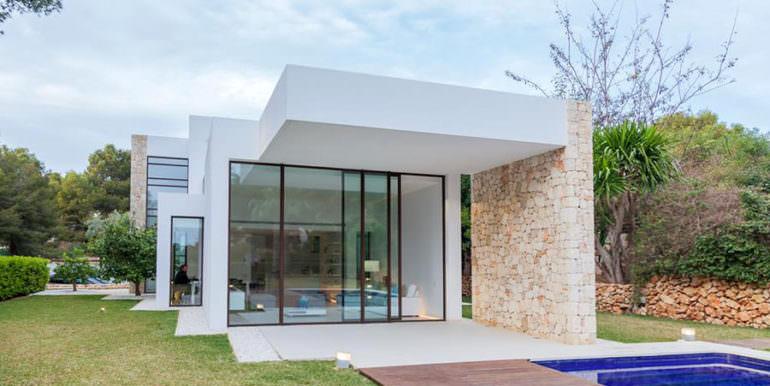 Modern new built luxury villa in Moraira El Portet - Covered terrace - ID: 5500685 - Architect Ramón Esteve