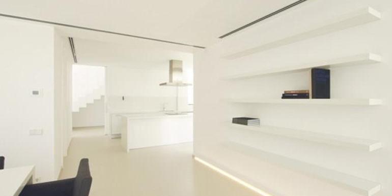 Modern new built luxury villa in Moraira El Portet - Dining and american kitchen - ID: 5500685 - Architect Ramón Esteve