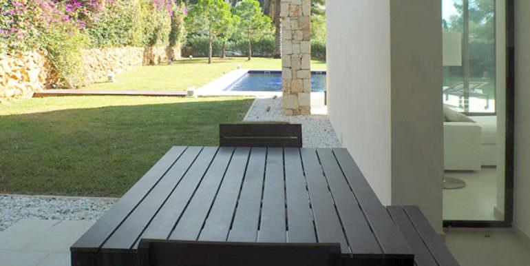 Modern new built luxury villa in Moraira El Portet - Dining terrace - ID: 5500685 - Architect Ramón Esteve