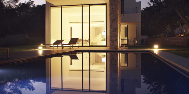 Modern new built luxury villa in Moraira El Portet - Illuminated - ID: 5500685 - Architect Ramón Esteve