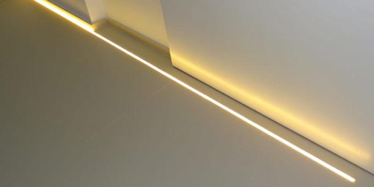 Modern new built luxury villa in Moraira El Portet - LED floor strip - ID: 5500685 - Architect Ramón Esteve