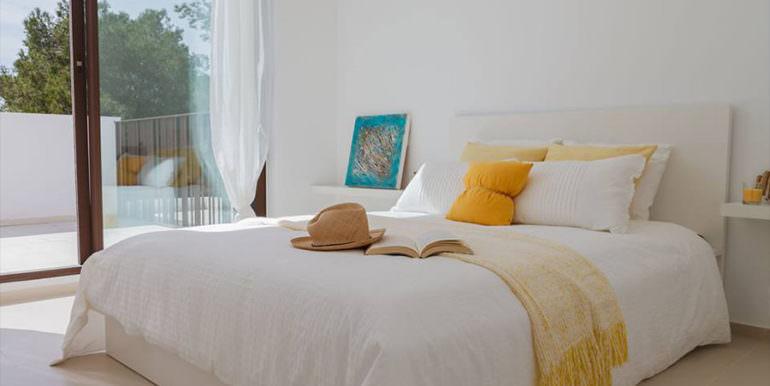 Modern new built luxury villa in Moraira El Portet - Master bedroom - ID: 5500685 - Architect Ramón Esteve