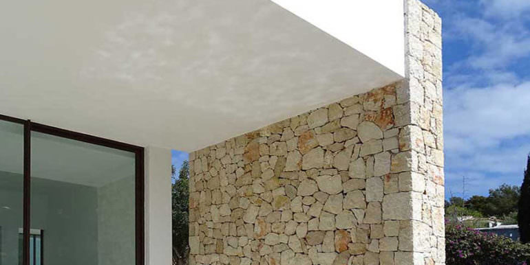 Modern new built luxury villa in Moraira El Portet - Natural stone wall - ID: 5500685 - Architect Ramón Esteve