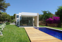Modern new built luxury villa in Moraira El Portet - Pool terrace - ID: 5500685 - Architect Ramón Esteve