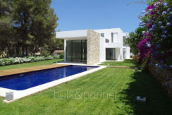 Modern new built luxury villa in Moraira El Portet - Pool terrace and garden - ID: 5500685 - Architect Ramón Esteve