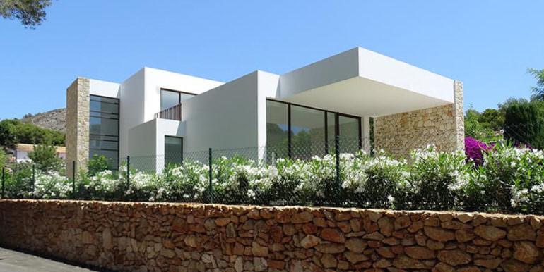 Modern new built luxury villa in Moraira El Portet - Side view - ID: 5500685 - Architect Ramón Esteve