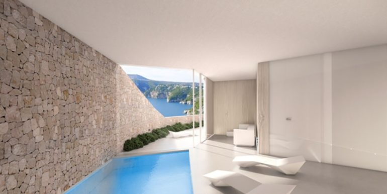 First line luxury Villa in Jávea Ambolo – Indoor pool – ID: 5500655 - Architect Ramón Esteve