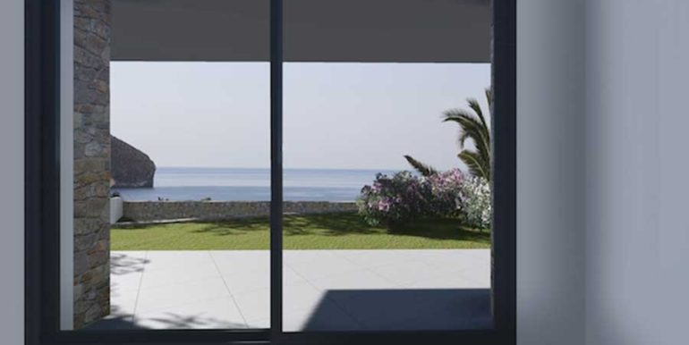 Modern new build luxury villa with sea views in Moraira Portichol - Bedroom with sea views - ID: 5500656 - Architect Joaquín Lloret