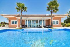 Luxusvilla in bester Lage mit atemberaubendem Meerblick in Moraira Coma de los Frailes - Pool Terrasse - ID: 5500661