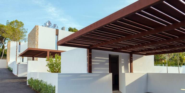 Modern design luxury villa in Moraira Moravit - Carport - ID: 5500684 - Architect Ramón Esteve Estudio