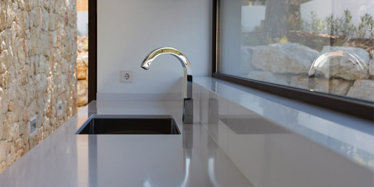 Modern design luxury villa in Moraira Moravit - Kitchen details - ID: 5500684 - Architect Ramón Esteve Estudio