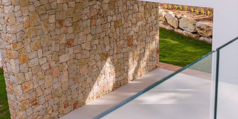 Modern design luxury villa in Moraira Moravit - Pool and covered terrace - ID: 5500684 - Architect Ramón Esteve Estudio