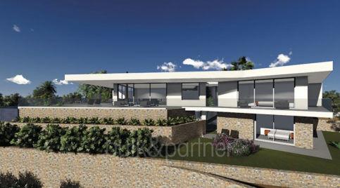 Villa de lujo de nueva construccion con vistas al mar en Moraira Pla del Mar - ID: 5500656 - Arquitecto Joaquín Lloret
