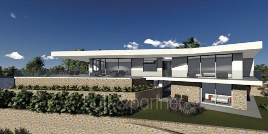 New build luxury villa with sea views in Moraira Portichol/Club Náutico
