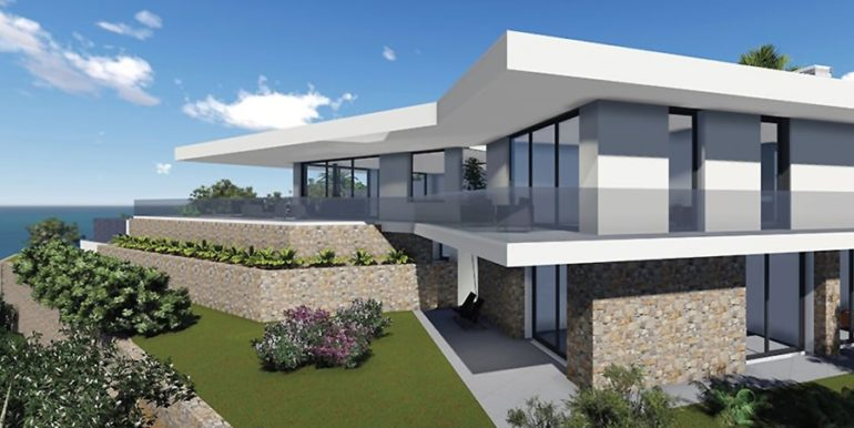 Modern new build luxury villa with sea views in Moraira Portichol - Sea views - ID: 5500656 - Architect Joaquín LloretModerne Neubau Luxusvilla mit Meerblick in Moraira Portichol - Meerblick - ID: 5500656 - Architekt Joaquín Lloret