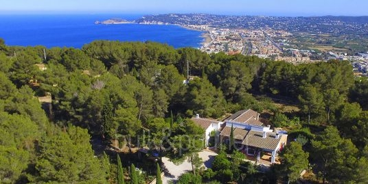 Exclusive finca property with privacy in Jávea Cuesta San Antonio/La Plana