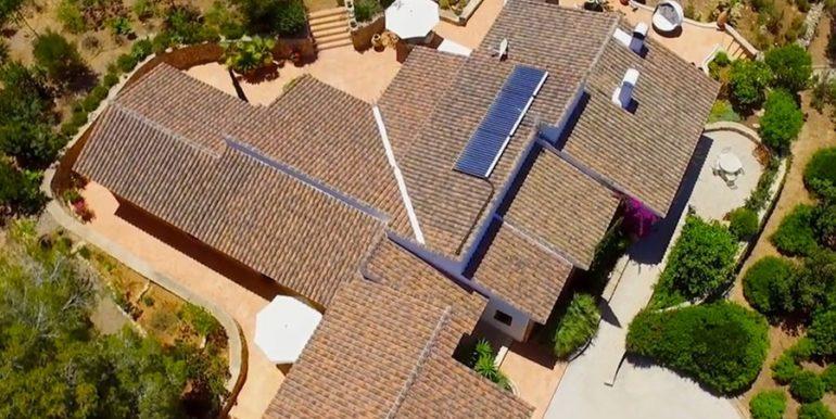 Exclusive Finca property with privacy in Jávea Cuesta San Antonio/La Plana - Aerial view - ID: 5500679