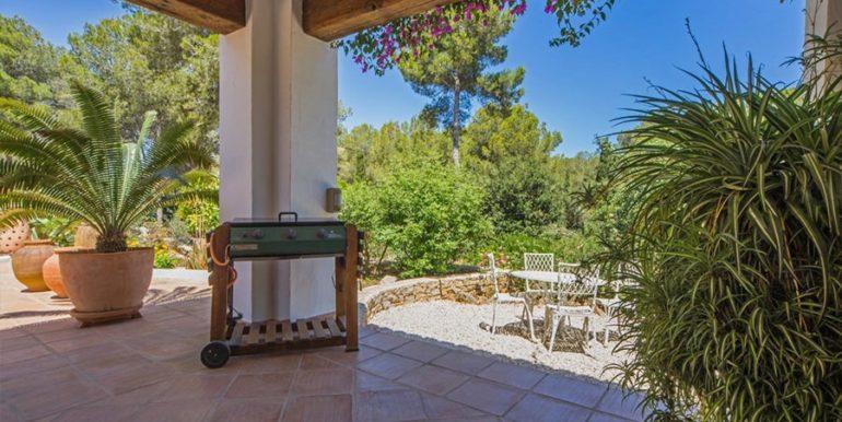 Exclusive Finca property with privacy in Jávea Cuesta San Antonio/La Plana - BBQ and covered terrace - ID: 5500679