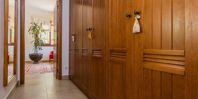 Exklusives Finca Anwesen mit Privatsphäre in Jávea Cuesta San Antonio/La Plana - Ankleidebereich - ID: 5500679