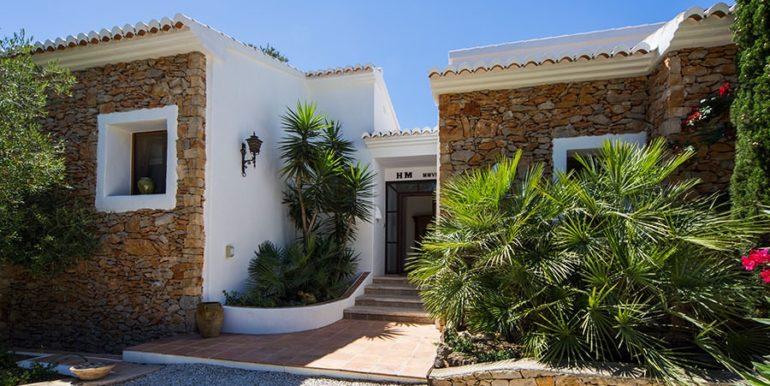 Exclusive Finca property with privacy in Jávea Cuesta San Antonio/La Plana - Entrance - ID: 5500679