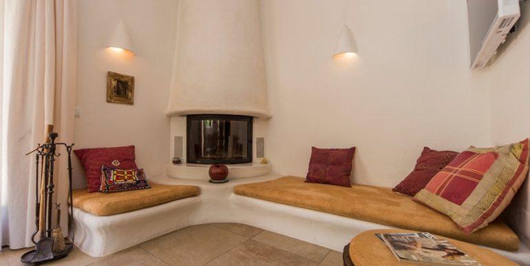 Exclusive Finca property with privacy in Jávea Cuesta San Antonio/La Plana - Fireplace - ID: 5500679