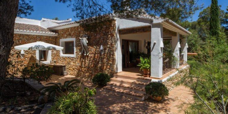 Exklusives Finca Anwesen mit Privatsphäre in Jávea Cuesta San Antonio/La Plana - Gästehaus - ID: 5500679
