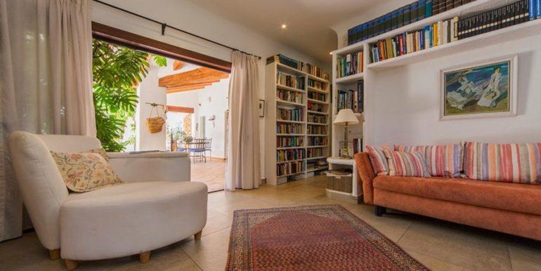 Exklusives Finca Anwesen mit Privatsphäre in Jávea Cuesta San Antonio/La Plana - Bibliothek - ID: 5500679