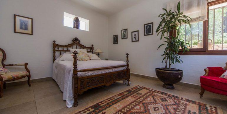 Exclusive Finca property with privacy in Jávea Cuesta San Antonio/La Plana - Master Bedroom - ID: 5500679