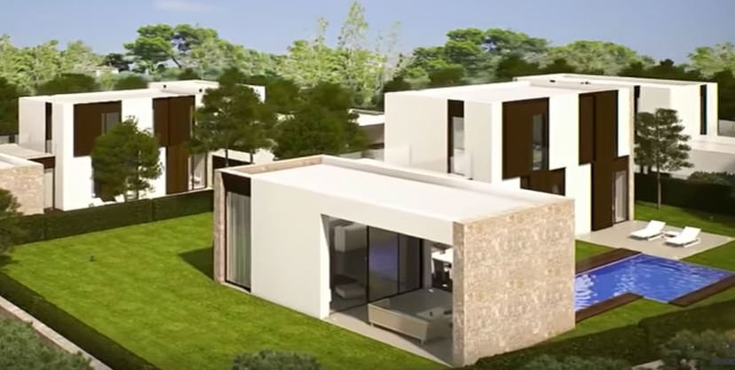 Modern design luxury villa in Moraira Moravit