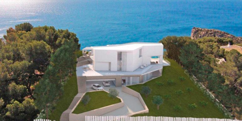 First line luxury Villa in Jávea Ambolo – Sea view total – ID: 5500655 - Architect Ramón Esteve