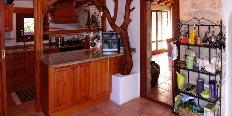 Stone finca with gardens and sea views in Benissa Canor - Kitchen - ID: 5500007 - Photographer Torsten Bulk