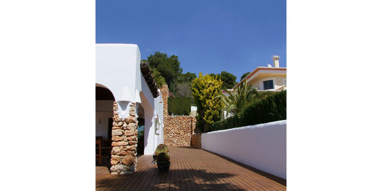 Ibizan luxury villa with harbour/sea view in Moraira Portichol/Club Náutico - Terrace - ID: 5500688 - Architect Joaquín Lloret - Photographer Torsten Bulk