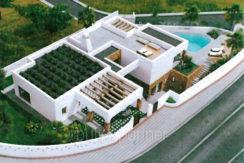 Luxusvilla im Ibiza-Style mit Hafen/Meerblick in Moraira Portichol/Club Náutico - ID: 5500690 - Architekt Joaquín Lloret