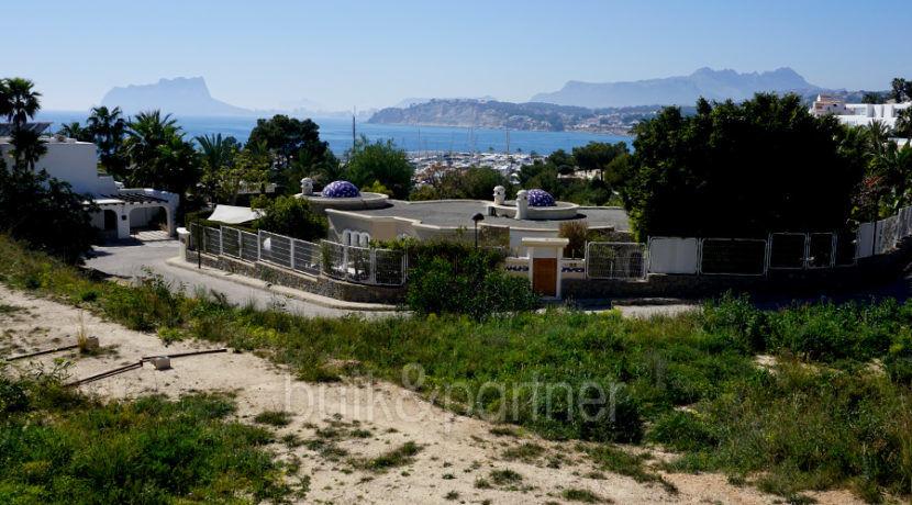 Villa de lujo ibicenca en una ubicación privilegiada en Moraira Portichol/Club Náutico - Puerto y vistas al mar - ID: 5500691 - Arquitecto Joaquín Lloret